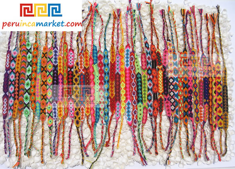 Andean Cusco friendship bracelets