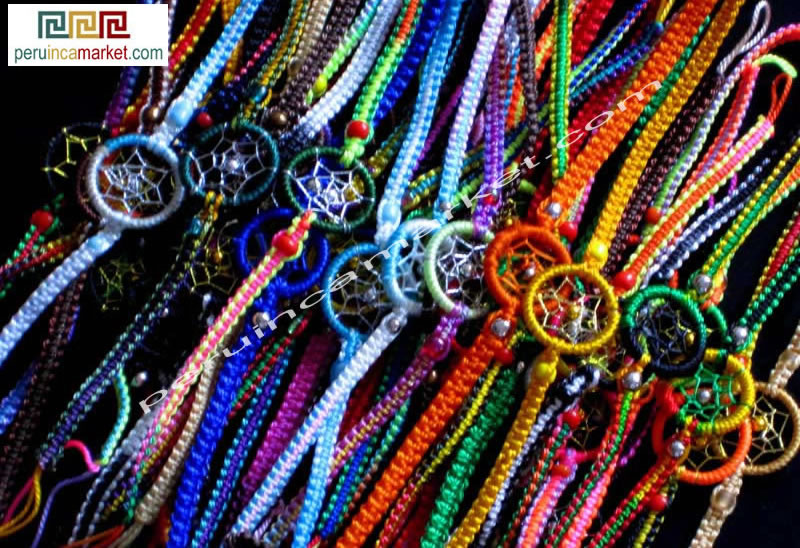Stores That Sell Dream Catchers 40 Peruvian Dreamcatcher Bracelets Amazon Indian jewelry 28