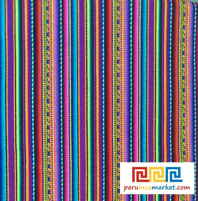 10 Yards Andean Tribal Ethnic Fabric South Almerican Textile