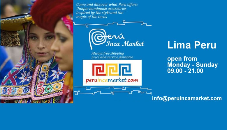 Peru Inca Market wholesale & export Peruvian jewelry and fabric